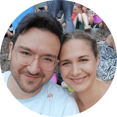 Sandro Trotta und Jessica Schlag von Bathely