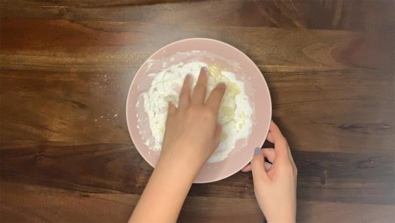 Schritt für Schritt-Bild zum Badepralinen-Rezept Bergamotte 3