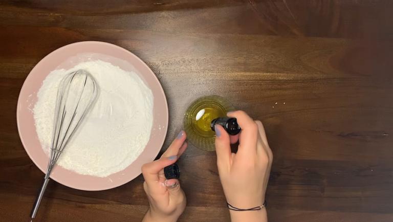 Schritt für Schritt-Bild zum Badepralinen-Rezept Geranium 2