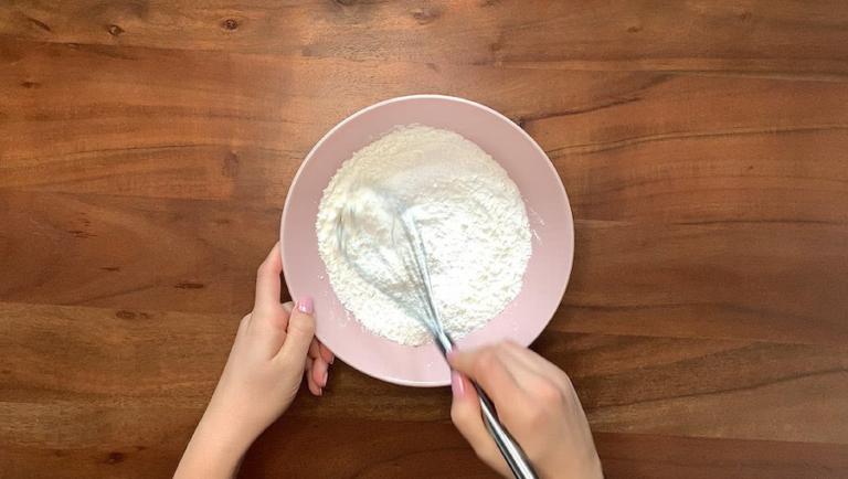 Schritt für Schritt-Bild zum Badekugel-Rezept mit Grapefruit