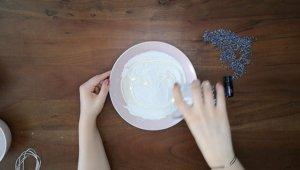 Schritt für Schritt-Bild zum Badekugel-Rezept mit Lavendel 1
