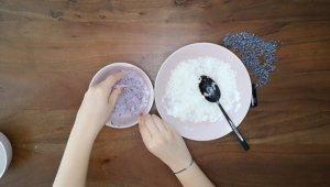 Schritt für Schritt-Bild zum Badekugel-Rezept mit Lavendel 2