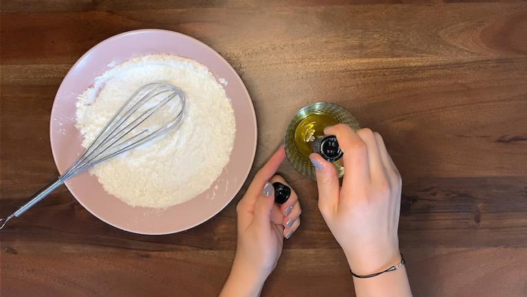 Schritt für Schritt-Bild zum Badekugel-Rezept mit Rosmarin 2