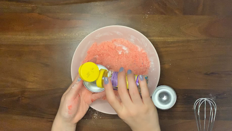 Schritt für Schritt-Bild zu sprudelnde Badekugel-Rezept 4