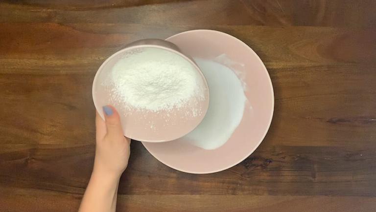 Schritt für Schritt-Bild zu sprudelnde Badekugel-Rezept 1