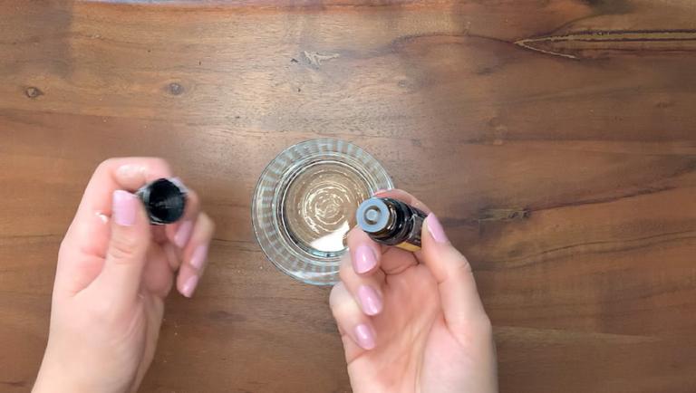 Schritt für Schritt-Bild zum sprudelnden Badepralinen-Rezept mit Zitrone 1