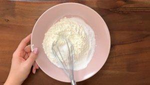 Schritt für Schritt-Bild zum sprudelnden Badepralinen-Rezept mit Zitrone