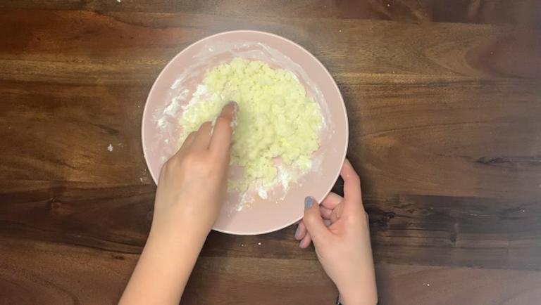 Schritt für Schritt-Bild zum Badepraline-Rezept mit Vanille 3
