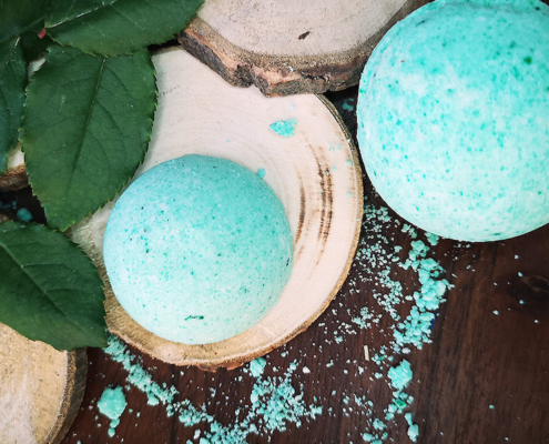 Titelbild zum Badekugel-Rezept mit Zitronengras