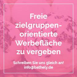 Werben Sie jetzt auf Bathely.de
